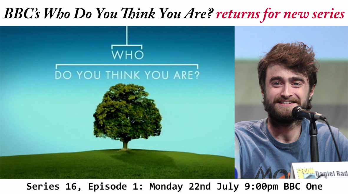 BBC Who Do You Think You Are? | Featuring Daniel Radcliffe